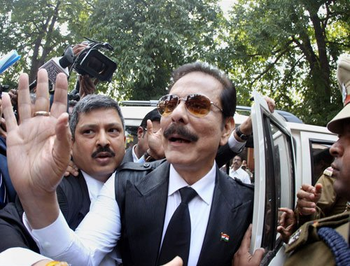 Order for release on interim bail unworkable: Subrata Roy to SC