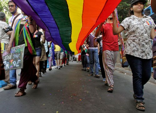 Monitoring gay rights situation in India, says US