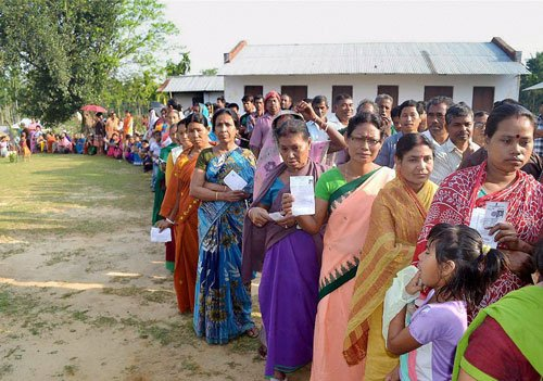 Over 80 percent vote as polling time ends in Bengal