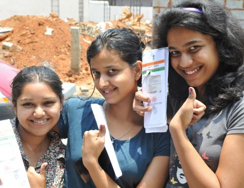 100 million vote in sixth round of Lok Sabha election