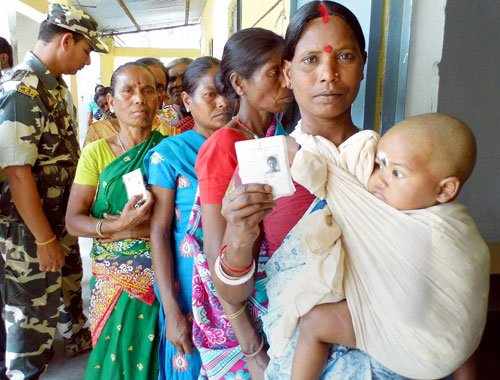 Highest turnout  in West Bengal