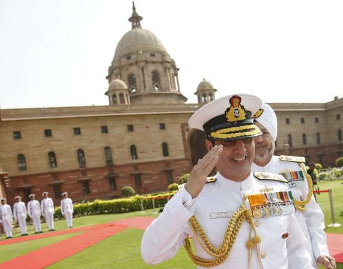 Dhowan is new Navy chief
