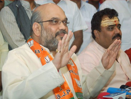 EC lifts ban on Amit Shah's campaign in UP