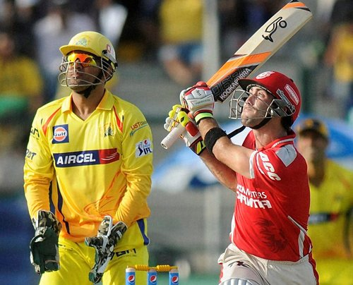 Maxwell and Miller fashion Kings XI win over Super Kings