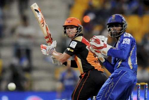 RR beat SRH by four wickets in IPL
