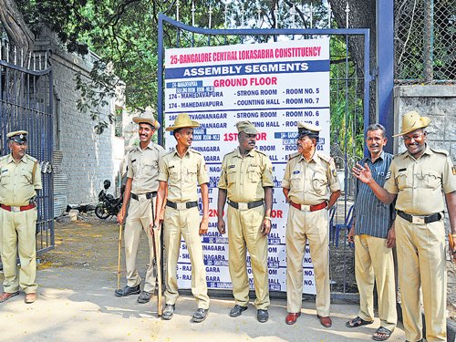 CISF, KSRP guard strong rooms