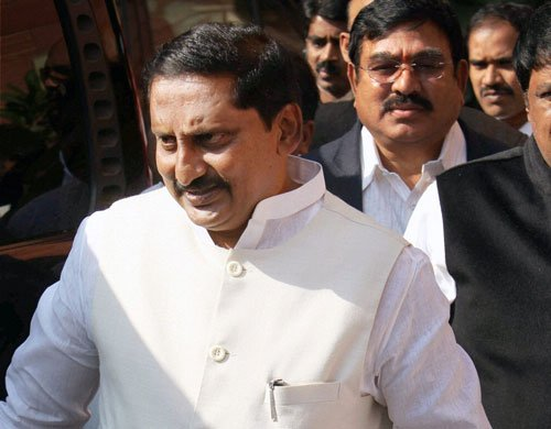 Kiran Kumar Reddy not to contest election