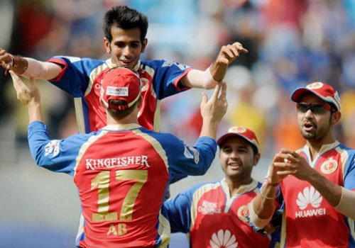RCB bowlers restrict MI to 115 in IPL