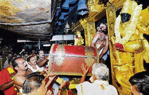 SC official finds serious lapses, wants audit of temple treasure