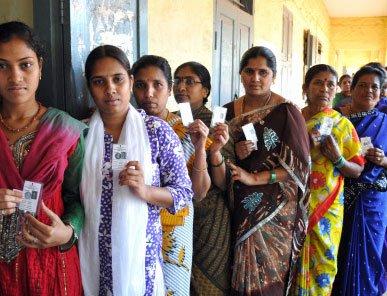Women turnout highest-ever in LS polls in Karnataka