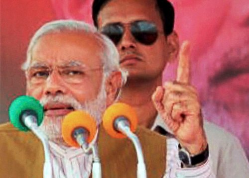 How can Rahul lead country when he cannot handle Amethi: Modi