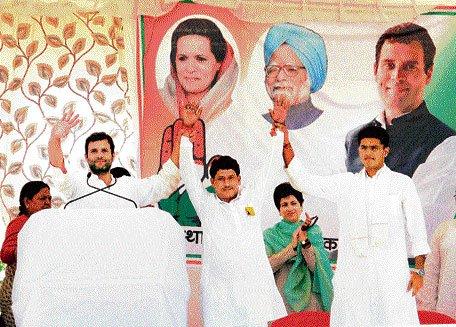 Vasundhara stopped Gehlot schemes: Rahul