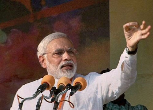 Will free country of criminals: Modi
