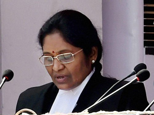 Gorla Rohini sworn in as first woman chief justice of Delhi HC