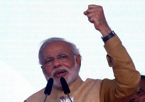 Modi vows to probe Vadra, corrupt deals
