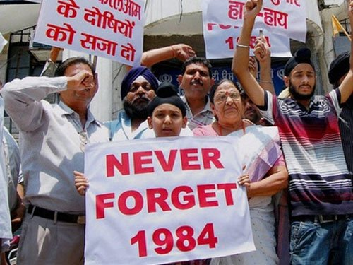 'Government did not allow police to act during 1984 riots'