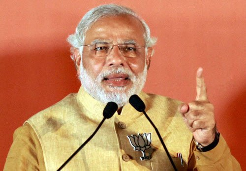 No one need be scared of my government, says Modi
