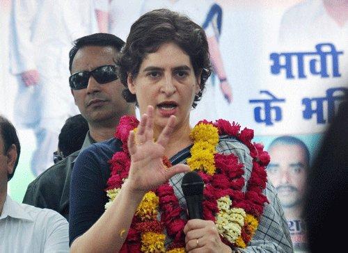 Priyanka Gandhi on attack on Robert Vadra