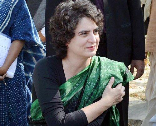 Priyanka takes jibe at Modi, warns agst concentration of power