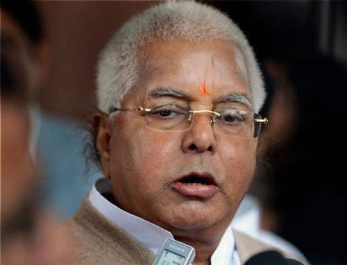 """Lalu hits out at BJP for its """"hate mongering"""" leaders"""