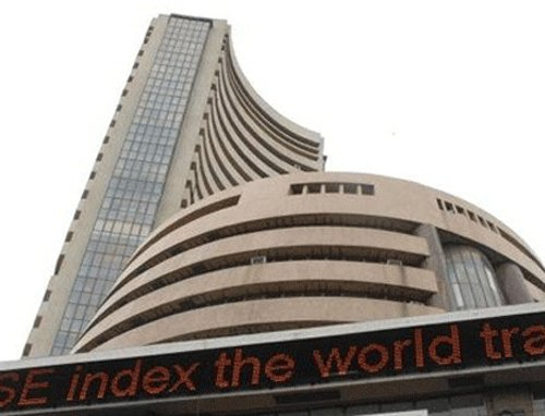 Sensex hits record high for third straight day