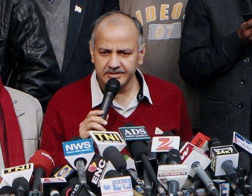 Kejriwal's resignation dented party's chances: Manish Sisodia