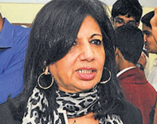 Kiran Mazumdar Shaw apologises for tweet on Rohan Murthy