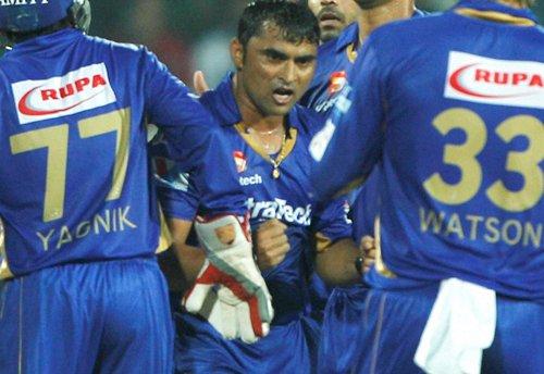 Chennai score 140/6 against Rajasthan