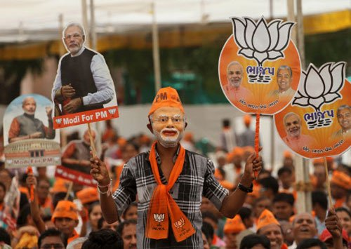 Modi set to file nomination from Varanasi