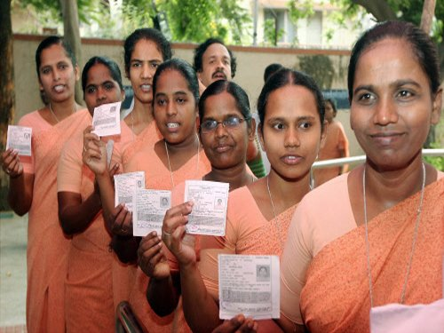 Record turnout in TN, Puducherry