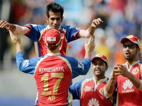 Knight Riders post 150/7 against RCB