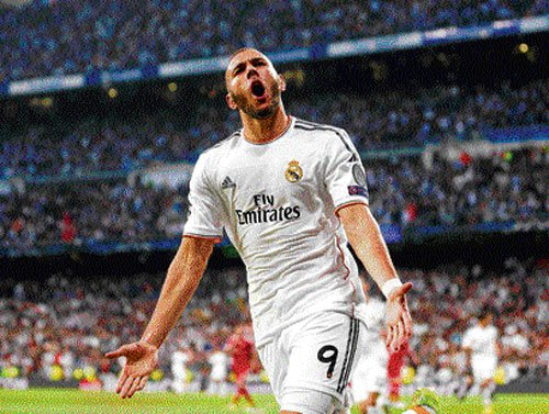 Benzema fashions Real victory