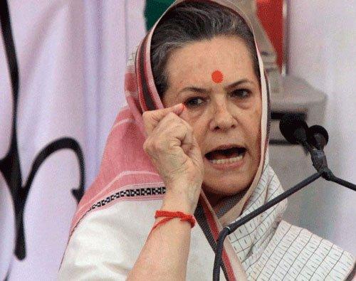 Modi govt unable to protect poor:Sonia