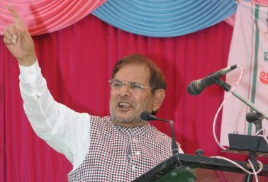 Sharad Yadav faces uphill task in Madhepura