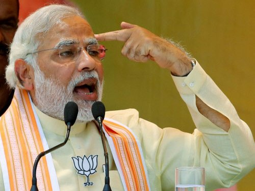 Modi cautions against narco-terrorism route to destroy India