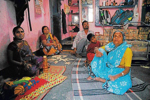 Leprosy patients, elders fear early eviction from Kathputli Colony