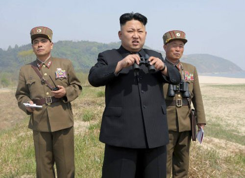 Kim urges N Korea soldiers to ready for 'impending conflict'