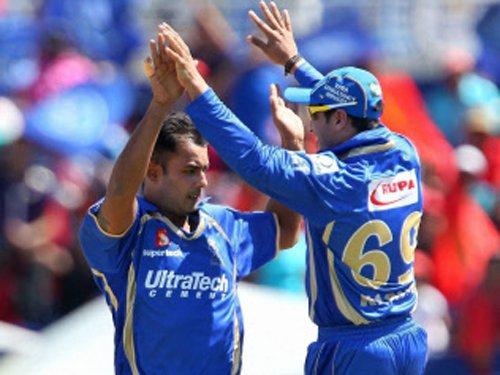 Rajasthan beat Bangalore by six wickets