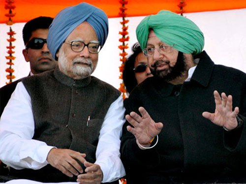 PM's second brother backs Congress, Amarinder
