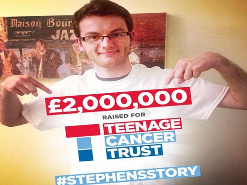 Dying British teenager raises record sum for charity