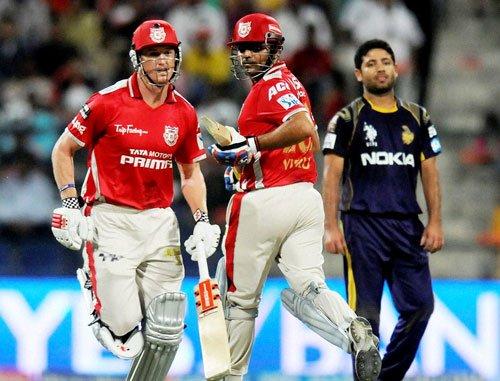 Bowlers guide Punjab to a 23-run win over Kolkata in IPL