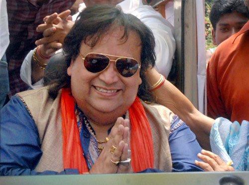 Bappi Lahiri sweats it out in Serampore