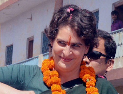 Don't need a 56-inch chest to run country: Priyanka to Modi