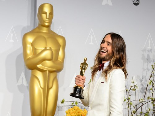 Oscar Trophy is a filthy mess: Jared Leto