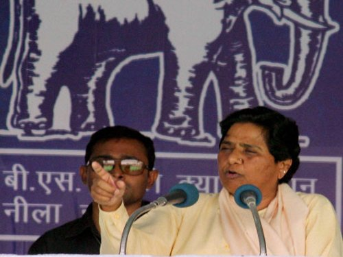 Mayawati attacks BJP for projecting Modi as OBC leader