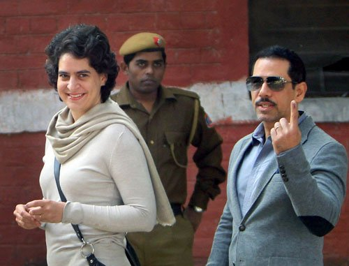 Vadra made money via land deals: BJP