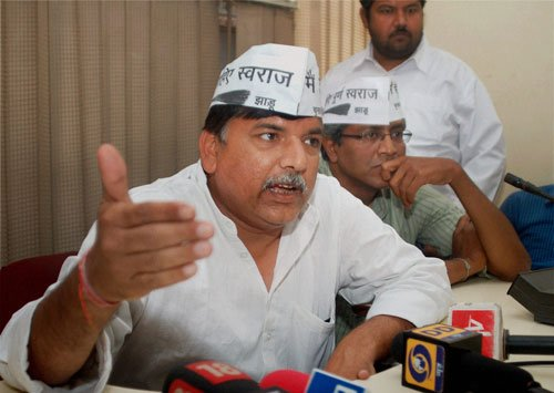 Sanjay Singh, Aam Aadmi Party leader