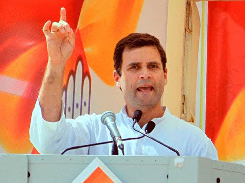 Rahul slams Modi's use of harsh words
