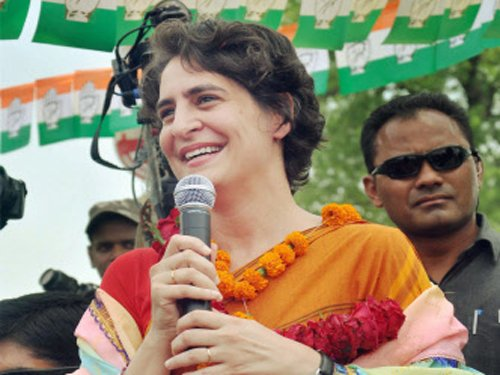 No challenge to Cong in Rae Bareli, Amethi: Priyanka Gandhi