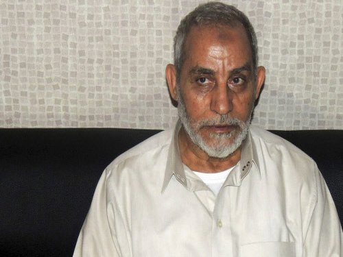Brotherhood chief, 682 others sentenced to death in Egypt